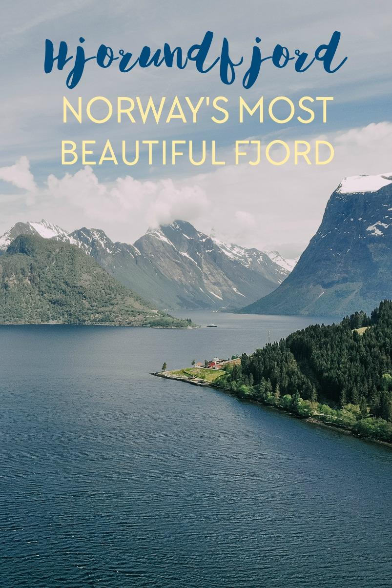 HJORUNDFJORD NORWAY - Many Norwegians consider Hjørundfjorden Norway's most beautiful fjord, and I have to agree!