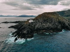 kråkenes fyr lighthouse vestland norway