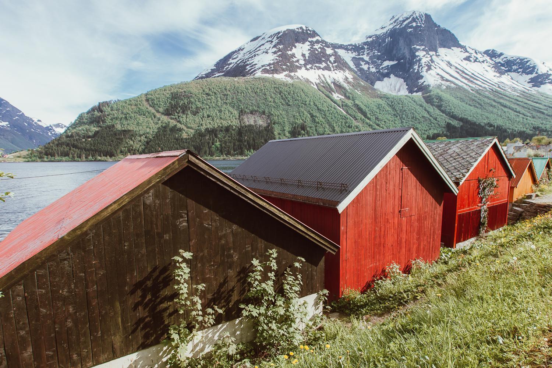 saebo hjorundfjord norway