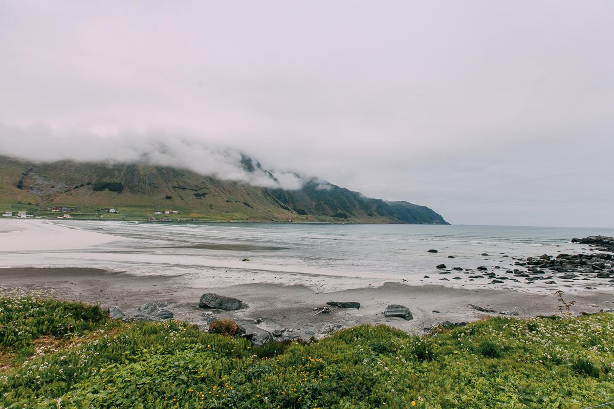 refviksanden beach vågsøy vestland norway