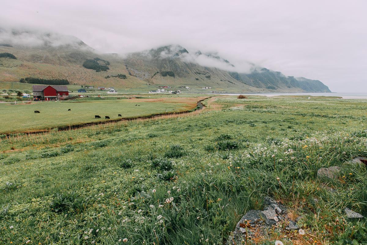 vågsøy vestland norway landscape