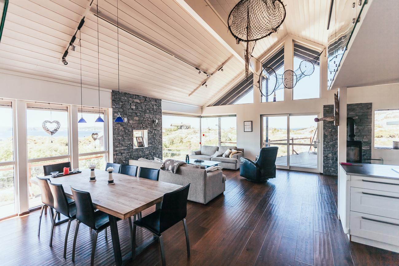 coastal cabin Airbnb Hitra, Norway