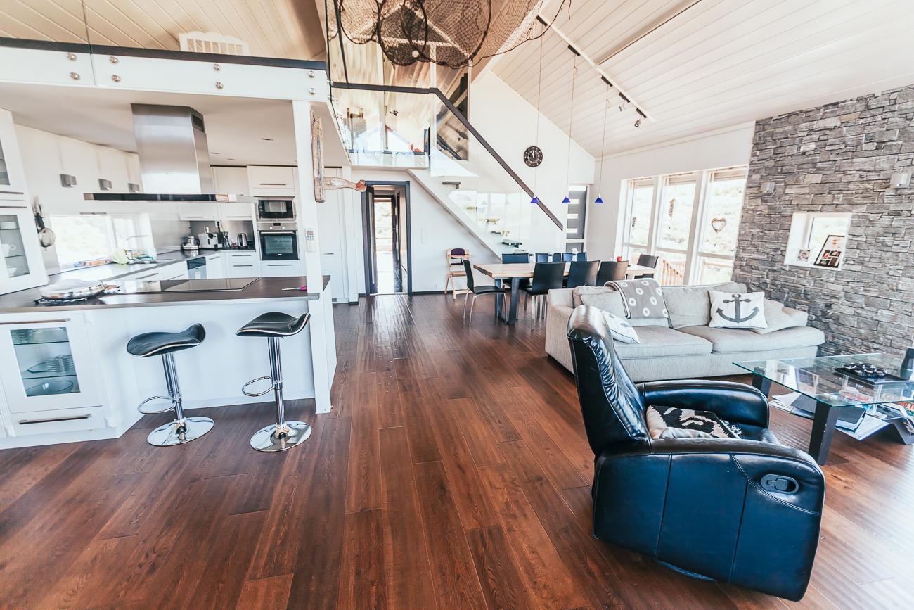 coastal cottage Airbnb Hitra, Norway
