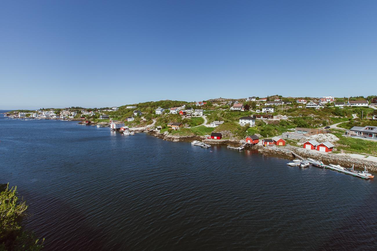 Halten fishing village Hitra, Norway