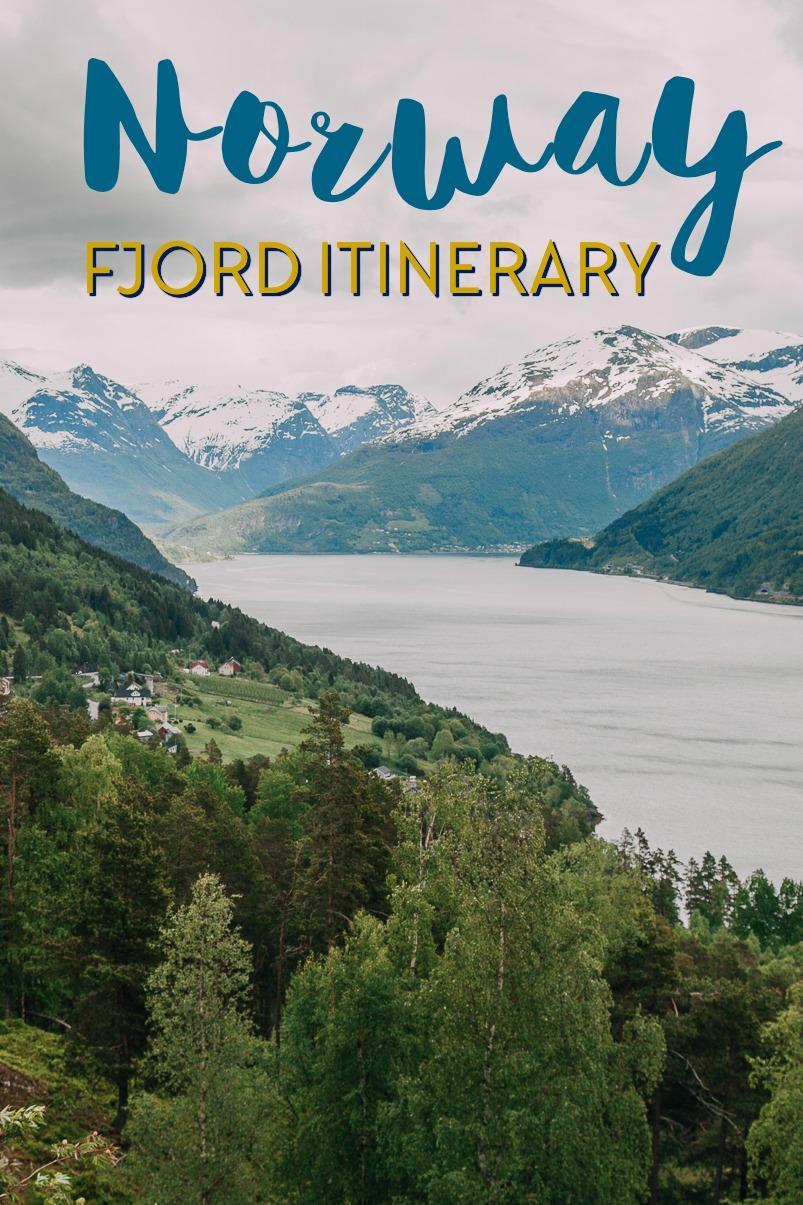 2 - 3 week Norway fjord itinerary including Trondheim, Røros, the Atlantic Ocean Road, Trollstigen, and the fjords