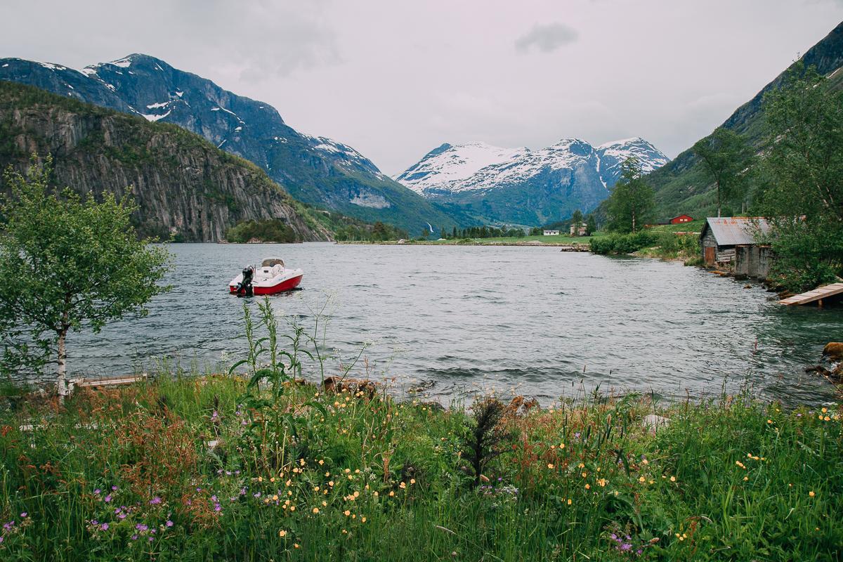 styrn lake norway