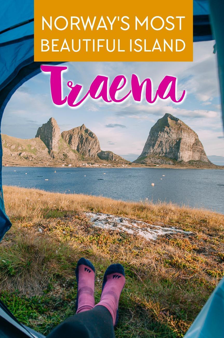 Visiting the islands of Træna in Helgeland, Norway