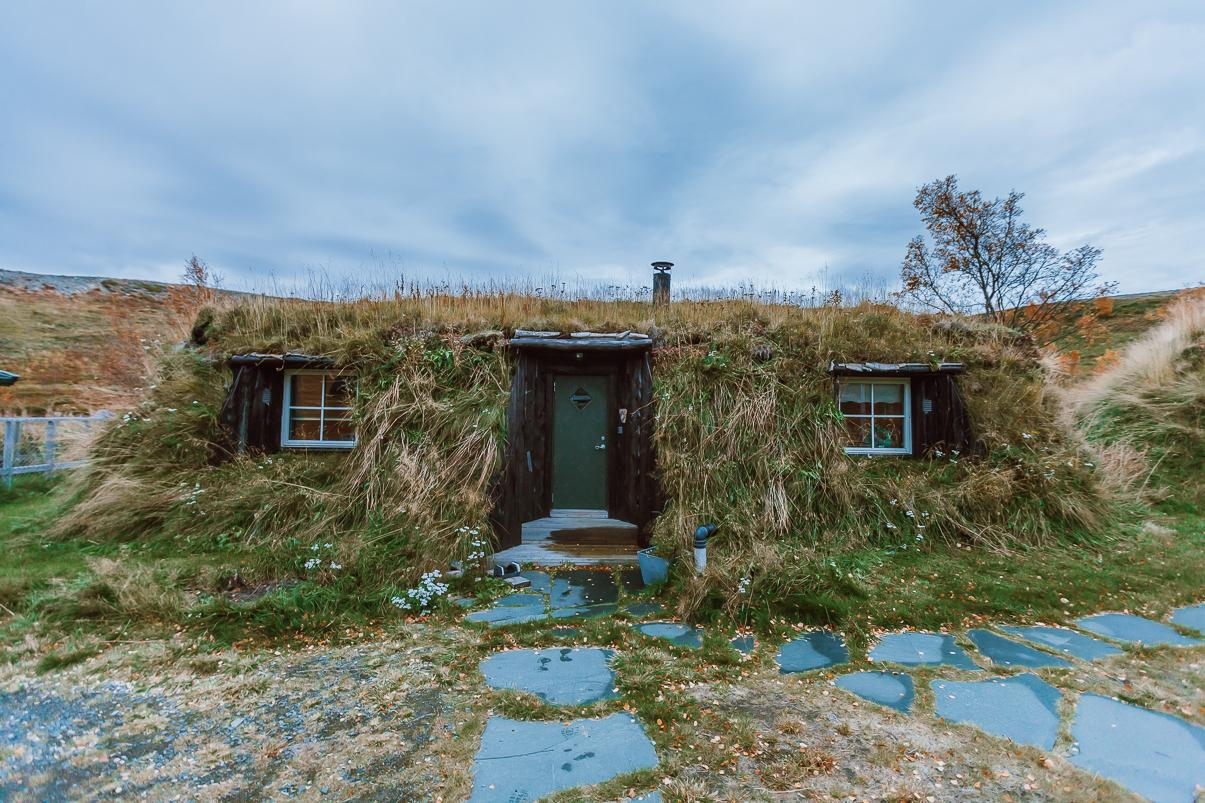 turf house airbnb finnmark, norway