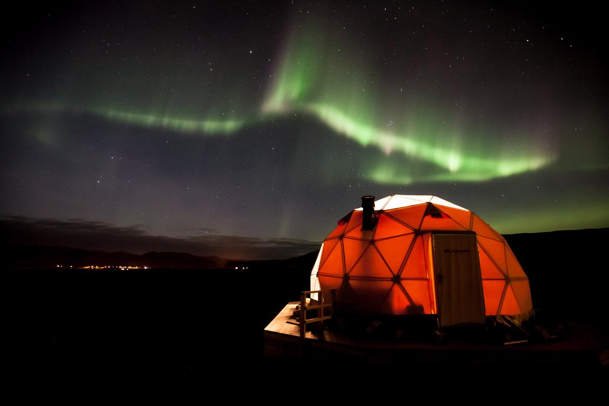 northern lights igloo hotel finnmark norway