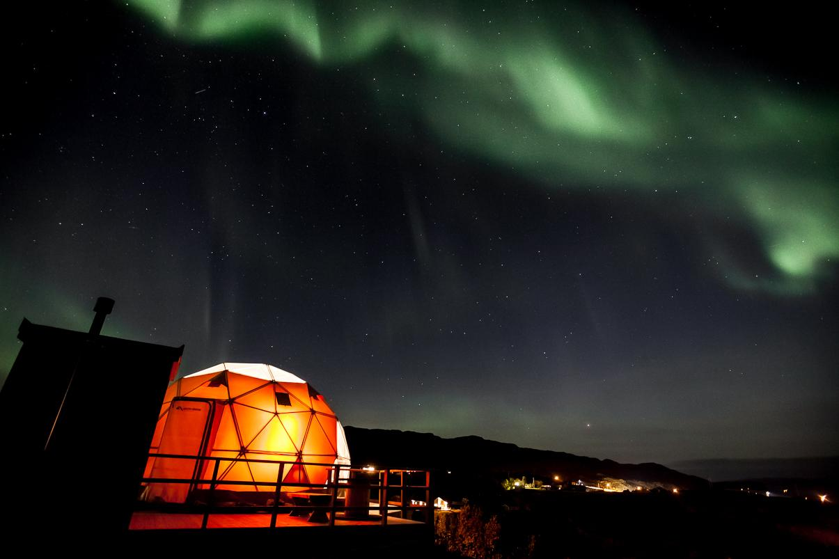 northern lights in norway in september