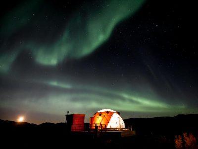 arctic dome kokelv finnmark norway