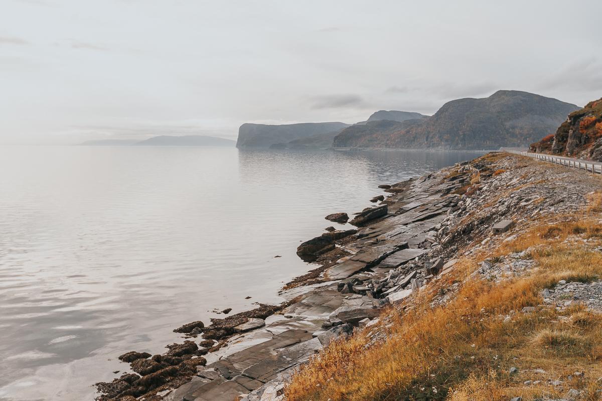 porsangerfjord, finnmark, norway