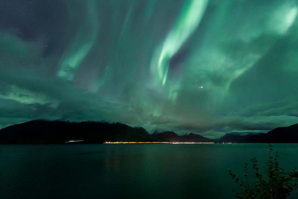 northern lights lyngen norway