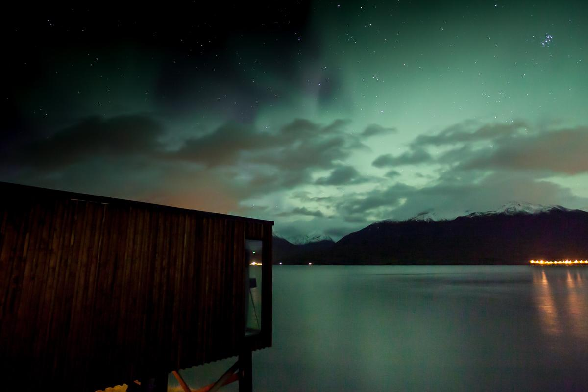 northern lights cabin lyngen norway