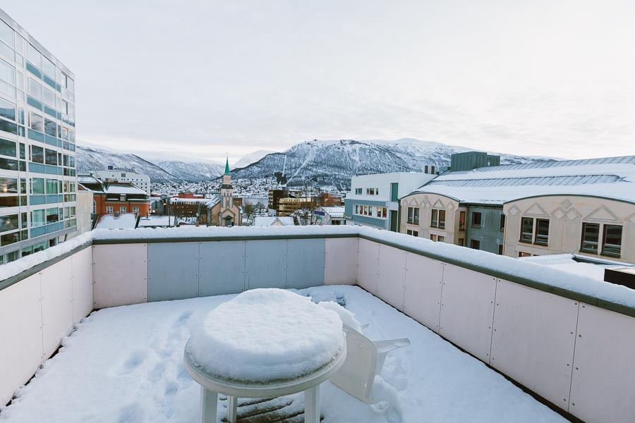 heart my backpack apartment Tromsø Norway