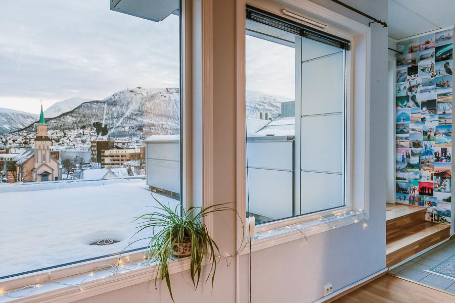 Norwegian apartment tour Tromsø
