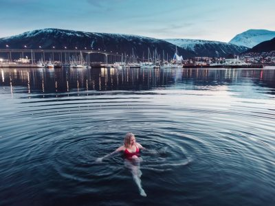 pust sauna winter swimming tromsø norway