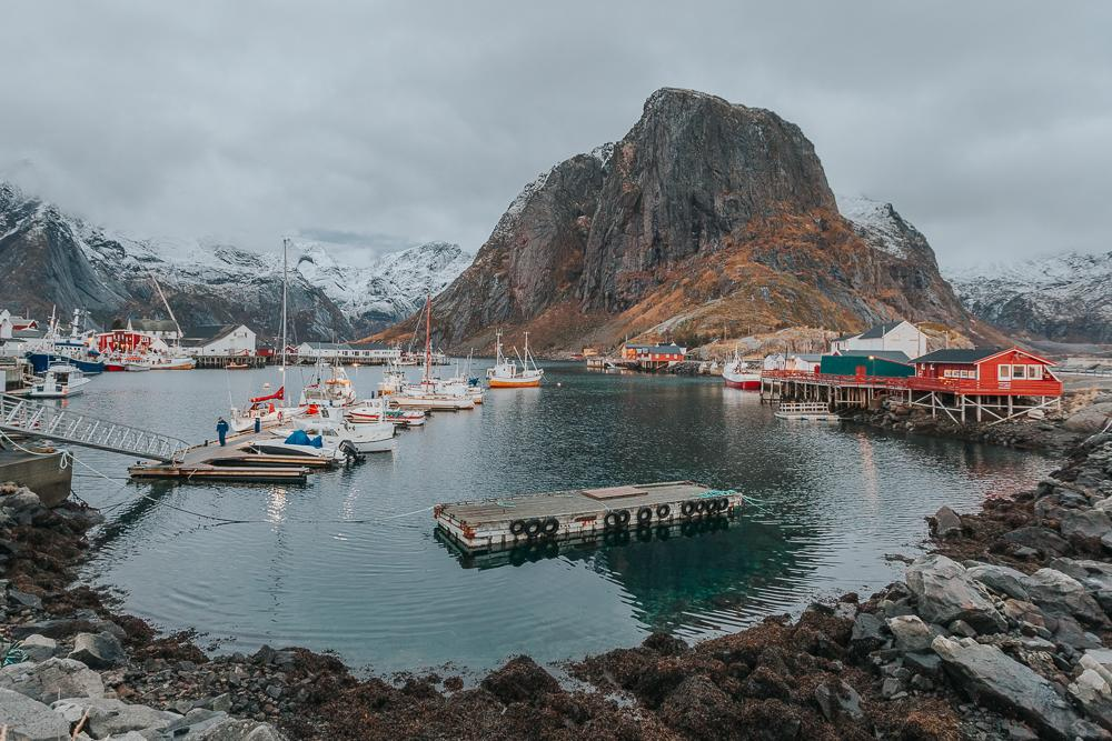 lofoten in winter