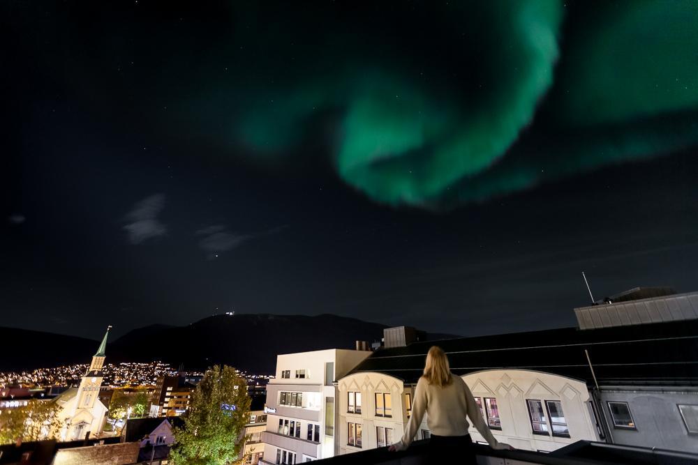 northern lights tromsø city center