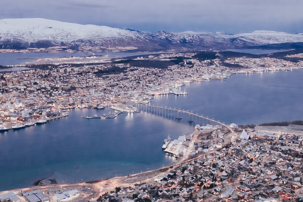 tromsø norway in winter