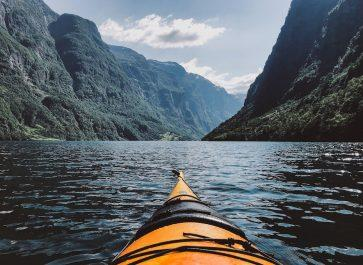 kayaking voss