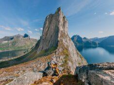 hesten hike senja norway segla view