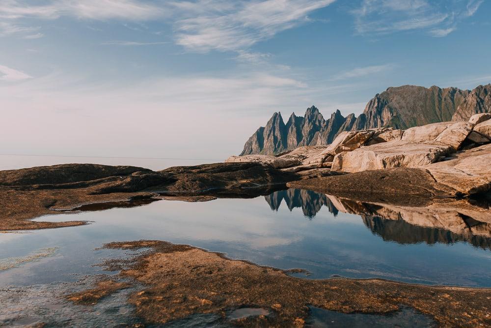 Tungeneset viewpoint national scenic route senja norway